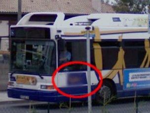 Bus flou