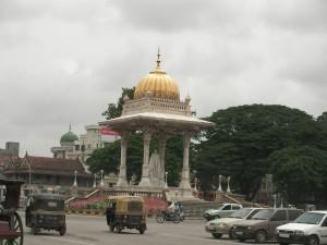 Arrivée à Mysore
